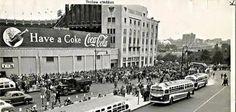 Yankee Stadium... Bronx, New York - ca. 1950's