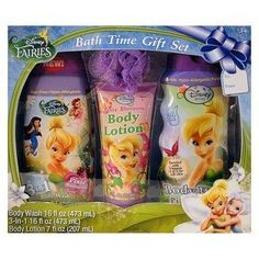 Disney Fairies Bath Time Gift Set By Disney. $22.99. Body Wash 16 Fl.