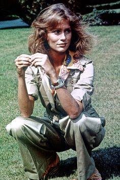 Lauren Hutton. Who knew a safari suit could be so sexy?