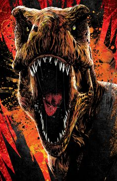 Anthony Petrie - Jurassic World: Fallen Kingdom Style Guide 2018 T Rex Jurassic Park, Jurassic Park Poster, Jurassic World 3, Jurassic World Fallen Kingdom, Jurassic World Pictures, Michael Crichton, Dinosaur Images, Dinosaur Pictures, Jurrassic Park