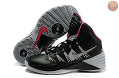 separation shoes 2db8d 462c7 Noir Gris Rose Nike Hyperdunk 2013 Basketball Shoes For Men, Kobe Basketball,  Lebron 11