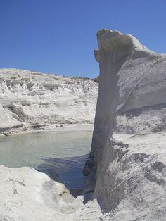 Greece  - Milos - Sarakiniko Beautiful World, Beautiful Places, Greek Beauty, Sun And Water, Santorini Greece, Greece Travel, Greek Islands, Travel Around, Beaches