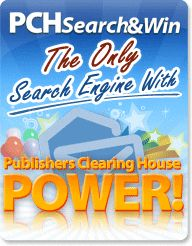 PCH Search & Win: the best search engine in town Vroom Vroom