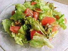 目指せデリ風!レタスとトマトのサラダの画像
