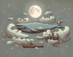This is the inspiration I am drawing from. #Steampunk #Sea #Air