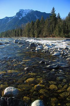 Coquihalla River in Hope, BC. Photo by Justin Brown. www.HopeBC.ca