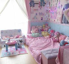 bedroom, pink, and cute afbeelding
