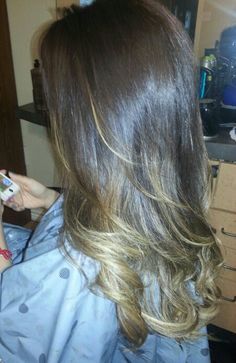 Dark and blonde! Ombre :)