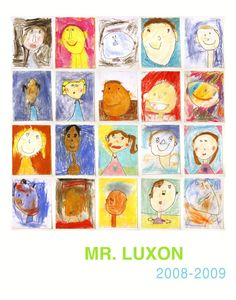 Mr Luxon Self Portrait Poster