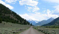 4 wheeling on N. Fork Road, Mackay, Idaho