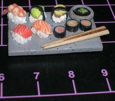 Dollhouse sushi