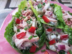 Meine Low Carb Rezepte: Fleischsalat - Fleischsalat ist irgendwie total retro. Ich esse ihn trotzdem sehr gerne.