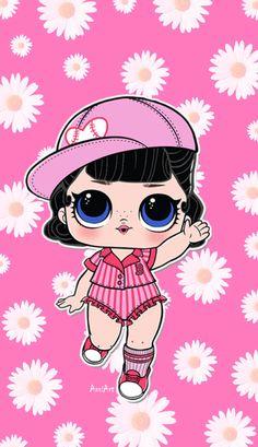 Lol Dolls, Cute Dolls, Up Pixar, Easy Disney Drawings, Bath And Body Works Perfume, Gel Ink Pens, Cute Kawaii Drawings, Cute Characters, Illustrations And Posters