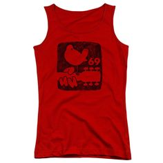 Woodstock - Summer 69 Junior Tank Top