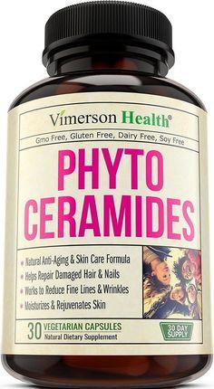 Phytoceramides Skin Care Hair Nails Anti Aging Rejuvenating 30ct -VimersonHealth  | eBay