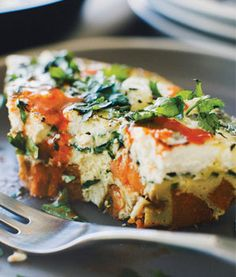 The Ultimate Crowd-Pleasing Brunch Recipe: Baby Spinach Frittata with Sweet Potato Hash Crust RHS