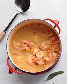 Butternut Squash Soup with Shrimp Recipe