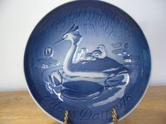 Bing & Grondahl Mother's Day Mors Dag Plate 1978 Heron