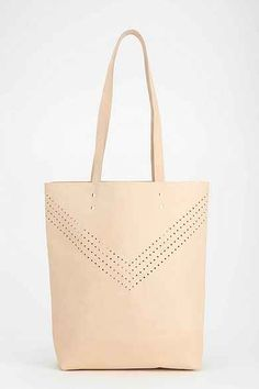 Cold Picnic X UO Perforated Leather Tote Bag