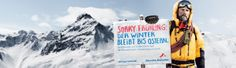 Sorry Frühling: Der Winter bleibt bis Ostern! spezieller Event mit #OpenFreerideSeries am 15./16.3.2014 im @Silvretta Montafon  Montafon  www.springpowder.at Winter, Mount Everest, Skiing, Mountains, Nature, Wellness, Travel, Ski Trips, Easter
