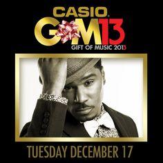 GLENN LEWIS TO HOST CASIO GIFT OF MUSIC 2013