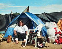 Link from GQ Magazine. Article: Tent City, U.S.A.  A field study, in these Hard Times, of the Homeless (as observed in the H Street Encampment, Fresno, California). Being an examination of who they are, how they think, and what they do  BY GEORGE SAUNDERS Sept. 2009