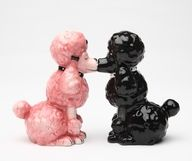vintage poodle salt and pepper shakers on amazon, I have these super cute