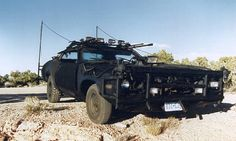 Road Warrior style vehicle.