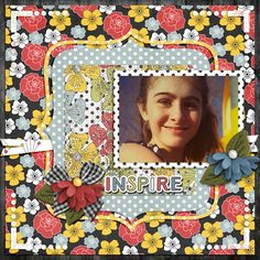 A picture of my daughter.  Kit used:  ETC by Danyale's Cottage Number 9  Template:  LissyKay Designs' Potpourri Templates