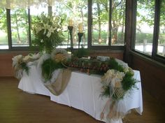 country grooms table ideas pavilion grooms cake table