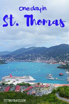 Plenty to see on the gorgeous island of St thomas, but if arrive on a cruise ship and you are only here for one day, heres what you should do on St…
