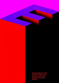 """German graphic designer """"Timo Lenzen"""":http://www.timolenzen.com/ merges crisp, stylised 3D forms with harsh, vibrant gradients to make posters with punch. Inspired by highly graphical works by Franco Grignani and architecture by Ricardo Bofill Levi, many of his designs have a sense of immense scale and space, while being bold with simple forms and colour.:"""
