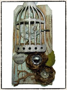 Tim Holtz Tag - Bird Cage die 3/11/11 http://timholtz.typepad.com/my_weblog/2011/03/thawing-out.html# Tag3