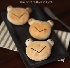 Biscuit animals...great for kids.