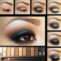 Eye makeup urban decay naked 2 pallette