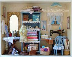 Patricia Cruzat Artesania y Color: Cuarto de Costura, un Regalo Original para alguien especial