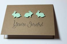 HOME MADE BABY SHOWER INVITATIONS | November 8th, 2012 By Michael No Comments