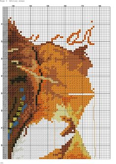 VK is the largest European social network with more than 100 million active users. Cross Stitch Charts, Cross Stitch Patterns, Flower Patterns, Pattern Flower, Hand Embroidery, Free Pattern, Crafts, Afrikaans, Points