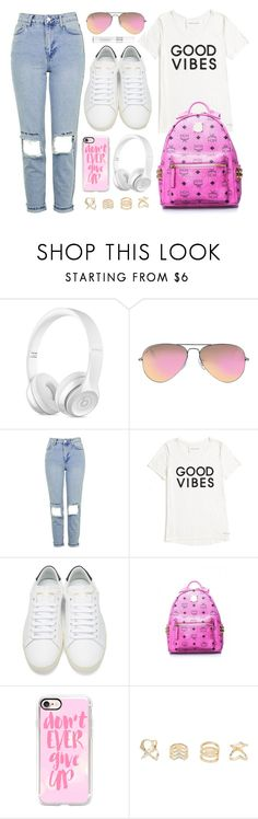 """""""School Look"""" by monmondefou ❤ liked on Polyvore featuring Ray-Ban, Topshop, Tommy Hilfiger, Yves Saint Laurent, Casetify, Charlotte Russe, Christian Dior, white and Pink"""