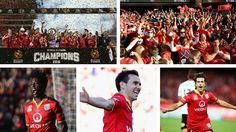 Congratulations to Adelaide United. Premiers. Champions. Third time lucky. Asian Champions League ahead. Commiserations Western Sydney Wanderers. The long off-season stretches before us. 02.05.16
