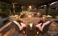Get inspired by the Keystone Retaining Wall Systems photo gallery to spark your imagination with the standard for excellence in the segmental industry. Florida Pool, Tampa Florida, Gazebo Pergola, Covered Pergola, Outdoor Rooms, Outdoor Living, Outdoor Kitchens, Outdoor Fire, Outdoor Ideas
