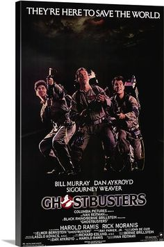 Alternate Ghostbusters poster art. They're here to save the world. :-)