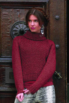 Flirt-neulepoolopusero WYS Bluefaced Leicester DK | Novita knits