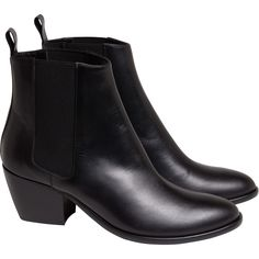 new boots rock n'roll noires