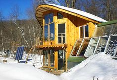 sustainable house design by Whole Tree Architecture