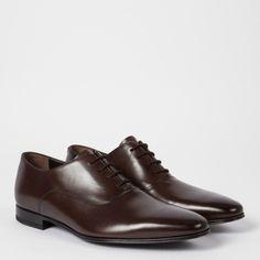 Chaussures Oxford Homme 'Fleming' En Cuir Marron Foncé