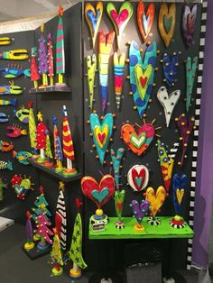 Cute Crafts, Crafts To Do, Arts And Crafts, Diy Crafts, Painted Sticks, Painted Wood, Wood Painting Art, Wood Art, Summer Crafts For Kids