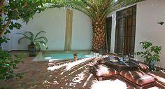 Simple but effective. Very nice patio!! Riad Dar Zelda - Marrakech