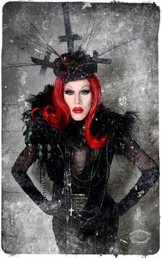 Well, apparently this is the fucking coolest thing in the whole fucking world! Why didn't anyone tell me about this!?! Sharon Needles. Ru Paul's drag race winner.