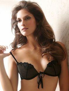 59642be388017 Antinea Beaute Fatale Front Tie Push Up Bra  http   www.ariciesf